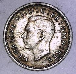 Threepence 1940