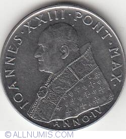 Image #2 of 100 Lire 1962 (IV) - Second Ecumenical Council