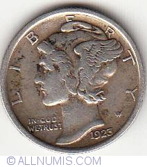 Image #1 of Dime 1923