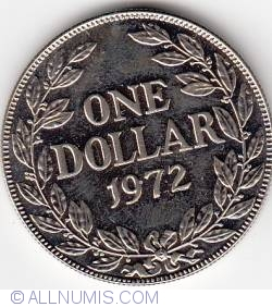 Image #1 of 1 Dollar 1972