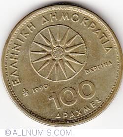 Imaginea #1 a 100 Drahme 1990