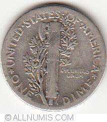 Image #2 of Dime 1939