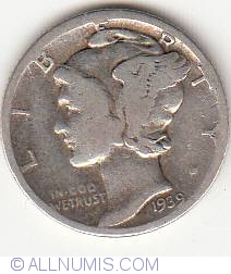 Image #1 of Dime 1939