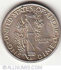 Image #2 of Dime 1942