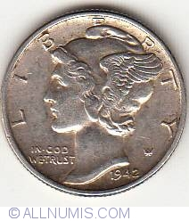 Image #1 of Dime 1942