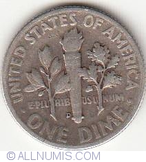 Image #2 of Dime 1948 D