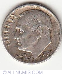Image #1 of Dime 1950