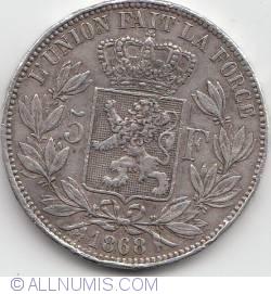 Image #1 of 5 Francs 1868