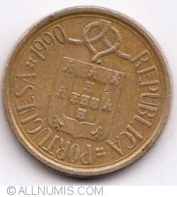 Image #2 of 5 Escudos 1990