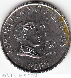 Philippines 5 Piso 2009-2014 27mm co-ni coin km272b UNC 1pcs