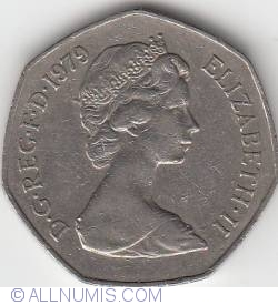 50 New Pence 1979