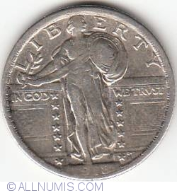 Image #2 of Standing Liberty Quarter 1918