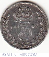 Threepence 1900