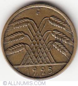 Image #2 of 10 Reichspfennig 1925 F