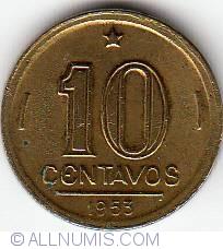 Image #1 of 10 Centavos 1953
