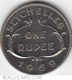 Imaginea #1 a 1 Rupee 1969