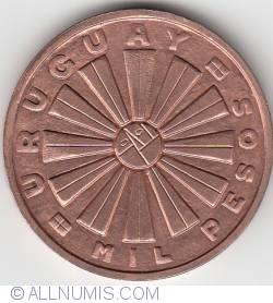 Image #1 of 1000 Pesos 1969 - F.A.O.
