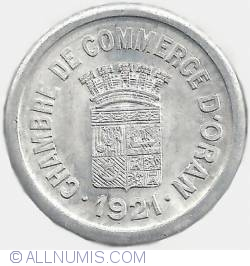 Image #1 of 10 Centimes 1921