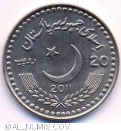 Image #1 of 20 Rupees 2011 - Pakistan-China Friendship