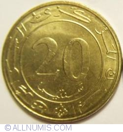 Image #1 of 20 Centimes 1987 F.A.O.