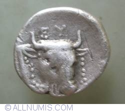 Image #2 of AR Drachm ND (304-290 BC)