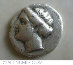 Image #1 of AR Drachm ND (304-290 BC)