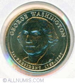 Imaginea #1 a 1 Dollar 2007 P - George Washington