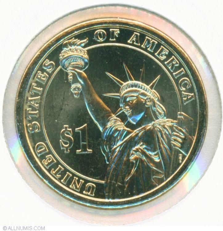 "2009 D John Tyler Presidential Dollar /""Brilliant Uncirculated/"" US Mint Coin"