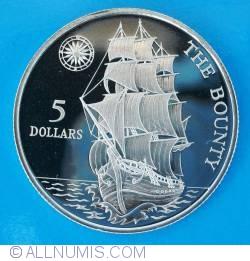 5 Dollars 1992 - The Bounty