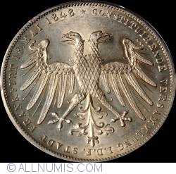 Image #1 of 2 Gulden 1848 - Archduke Johann of Austria elected as Vicar