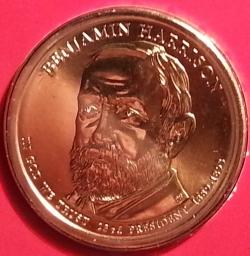 1 Dollar 2012 P - Benjamin Harrison