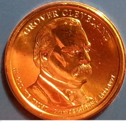 1 Dollar 2012 P - Grover Cleveland (second term)