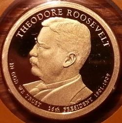 1 Dollar 2013 S - Theodore Roosevelt
