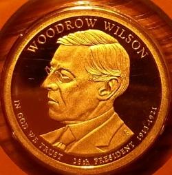 1 Dollar 2013 S - Woodrow Wilson