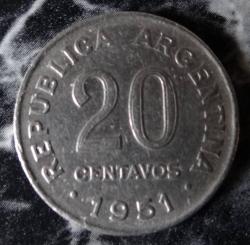 Image #1 of 20 Centavos 1951