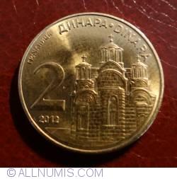 Imaginea #1 a 2 Dinari 2012