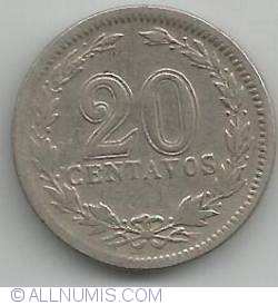 Image #1 of 20 Centavos 1930