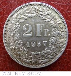 Imaginea #1 a 2 Franci 1957