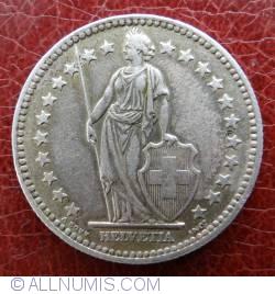 Image #2 of 2 Francs 1957