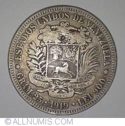 Imaginea #2 a 5 Bolivares 1919
