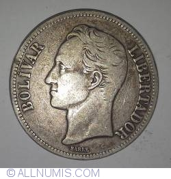 Imaginea #1 a 5 Bolivares 1919