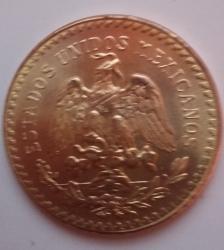 Image #2 of 50 Pesos 1947 (restrike)