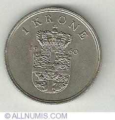 Image #2 of 1 Krone 1960