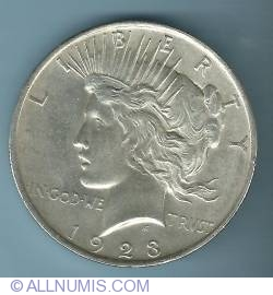 Image #1 of Peace Dollar 1923