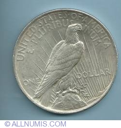 Image #2 of Peace Dollar 1923