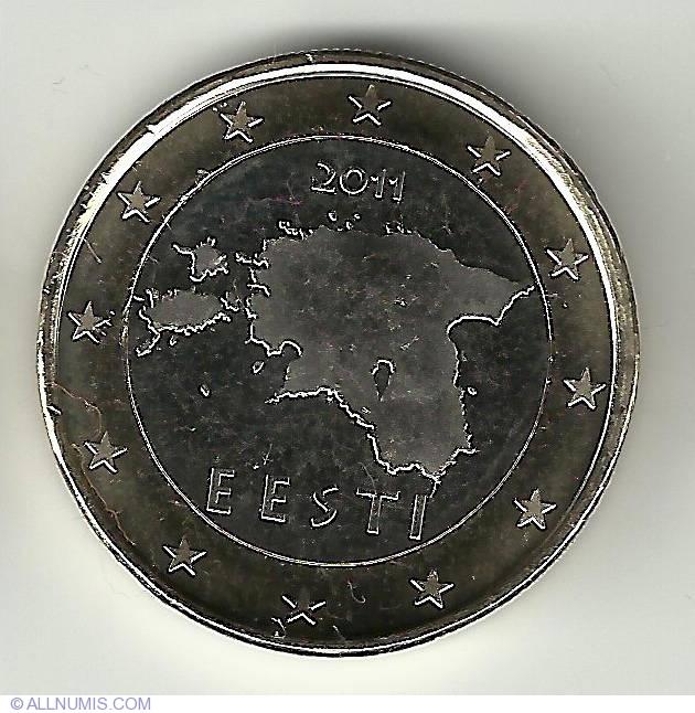 Uncirculated 2017 Estonia 5 Euro Cents