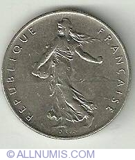 Image #1 of 1 Franc 1970