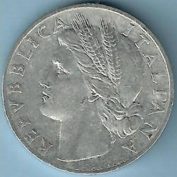 Image #2 of 1 Lira 1948