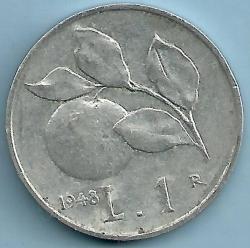 Image #1 of 1 Lira 1948