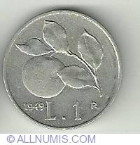 Image #1 of 1 Lira 1949
